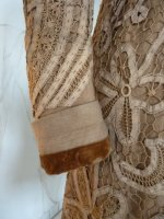 7 antique battenburg lace coat 1906