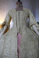 3 antique robe a la francaise 1770