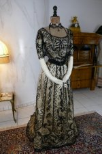 2 antique ball gown 1900
