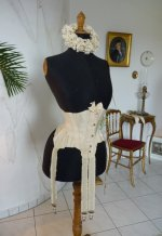 6 antique wedding corset 1885
