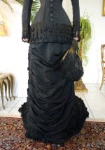 17 antique mourning dress 1879