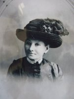 1 antique mourning Hat 1905