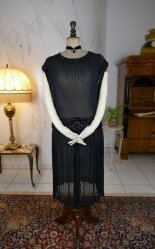 antique evening dress 1924