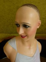 31 antique wax mannequin Imans 1920