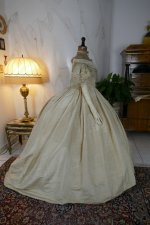 35 antique ball gown 1859