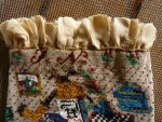 11 antique beaded Purse 1825