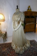 12 antique ball gown 1900