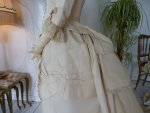 21 antique wedding gown 1874