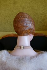 17 antique wax Bust 1920