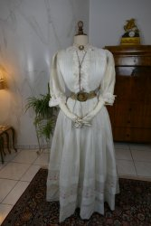 antique summer dress 1904