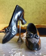 8 antique shoes