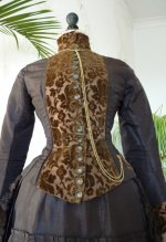4 antique bustle gown