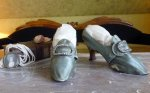2 antique shoes 1780