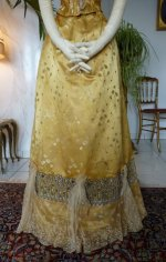 14 antique ball gown 1895