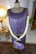 10 antique BABANI evening dress 1925