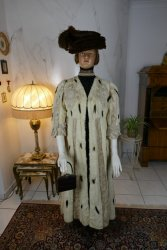 antique hermine lace coat 1901