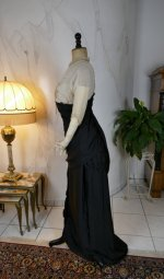22 antique evening gown Nelmarie 1913