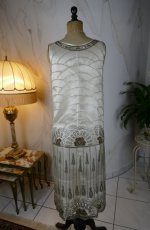 21 antique flapper evening dress 1920