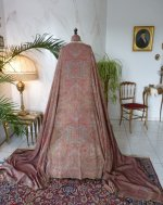 16 antique Paisley shawl 1860