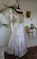 6 antique ball gown