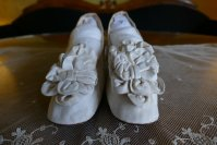 3 antique chevreau leather shoes