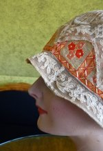 6 antique cloche hat 1927