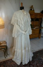 16 antique dressing gown 1890