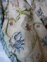 8 antique silk jacket 1750