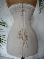 antique corset, edwardian corset, corset 1910, Corset Triumph, german corset, antieke Corset, antique dress