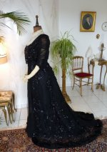 18 antique ball gown