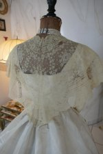 17 antique ball gown 1865