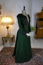 26 antique reception gown 1896