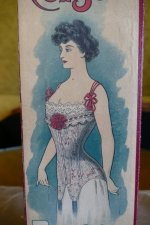 1 antique corset box 1903