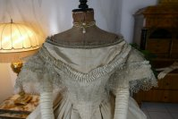 5 antique ball gown 1859