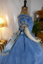 47 antique ball gown 1864