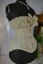 17 antique corset 1880