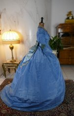 19 antique ball gown 1864