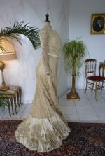 42 antique reception gown 1901
