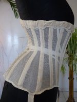 15 antique summer corset 1890