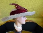 9 antique hat Titanic Cameron 1912