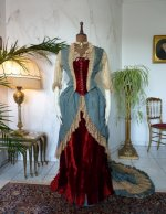 10 antique Ball gown 1876