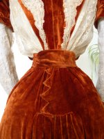 38h antique gown
