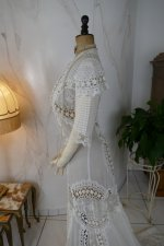 17 antique irish crochet dress 1904