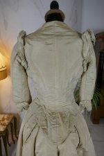 27 antique bustle dress 1880