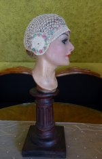 9 antique boudoir cap