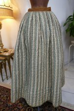 12 antique Biedermeier petticoat 1830