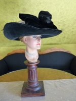 19 antique lampshade hat 1912