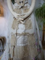 9 antique evening gown Henriette Tissier 1895