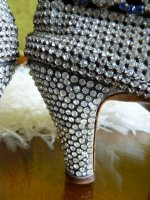 23 antique rhinestone shoes 1920