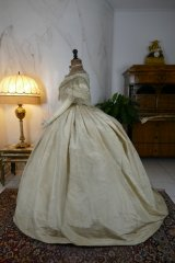 15 antique ball gown 1859